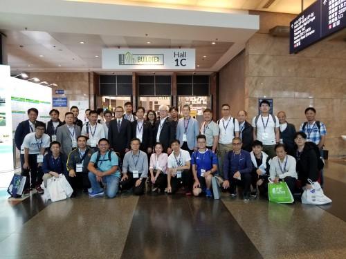 2018年5月9日到香港參觀「Build4Asia 2018建築科技、電氣照明及防火保安展覽會」
